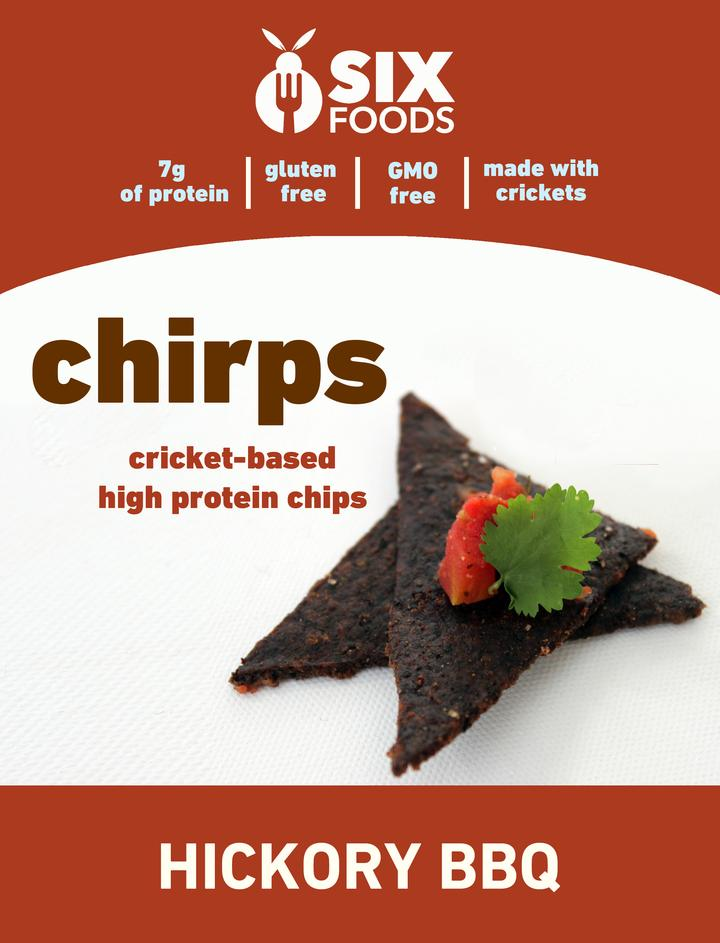 chips made of crickets