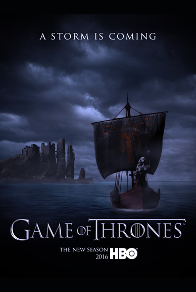 Game of Thrones HBO television series poster