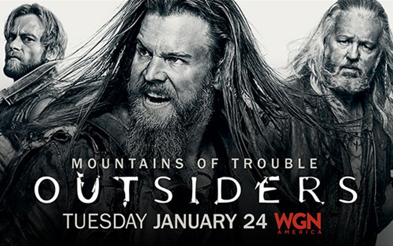 Outsiders television series poster