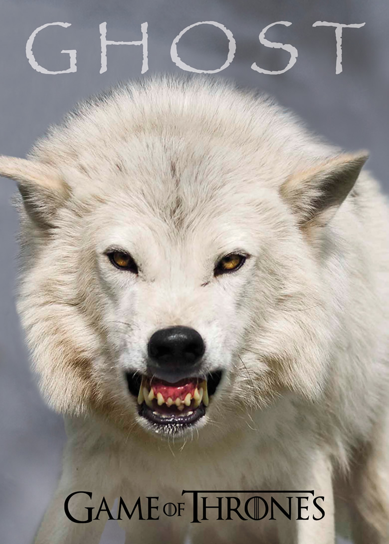 Instinct Animals for Film's White Wolf featured in the  Game of Thrones